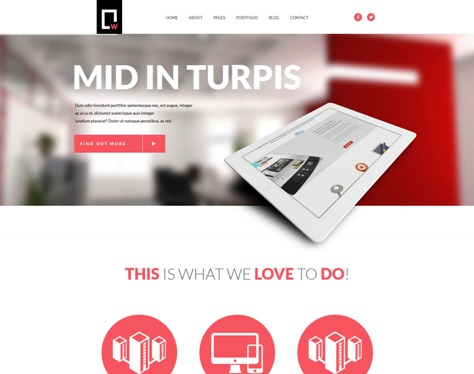 White Multipurpose Responsive WordPress Theme