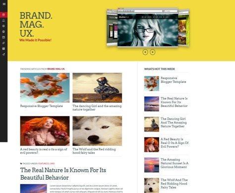 Brand Mag UX