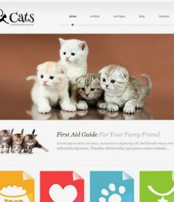 20+ Pets & Animals WordPress Themes
