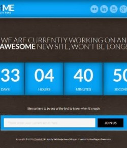20 Best Free Blogger Coming Soon & Under Construction Templates