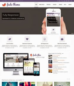 10+ Best Bootstrap WordPress Themes