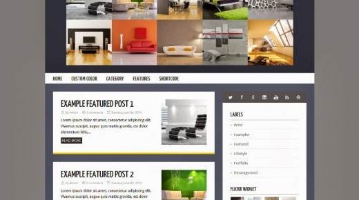 45+ Best Free Blogger Templates 2013
