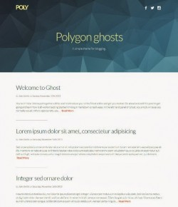 Best Responsive Ghost Themes