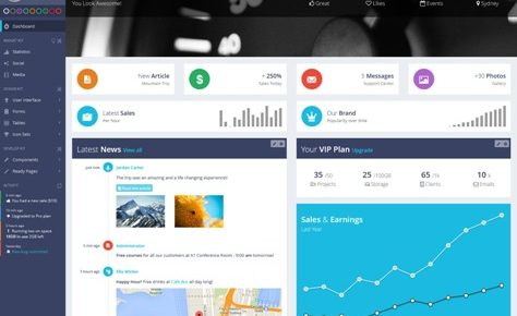 60+ Best Admin Dashboard Templates