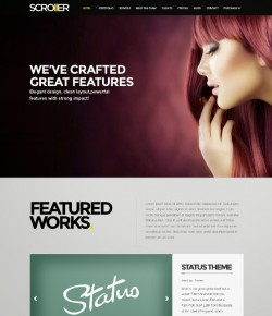10+ Best Parallax WordPress Themes