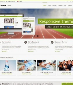 15+ Best Responsive Flat WordPress Themes