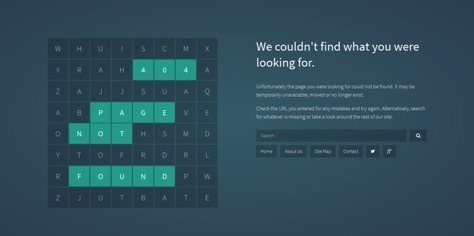 25+ Best 404 Error Page Templates