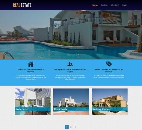 10+ Free Real Estate Blogger Templates - Webprecis