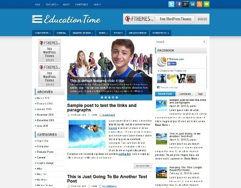 15 Free Education WordPress Themes