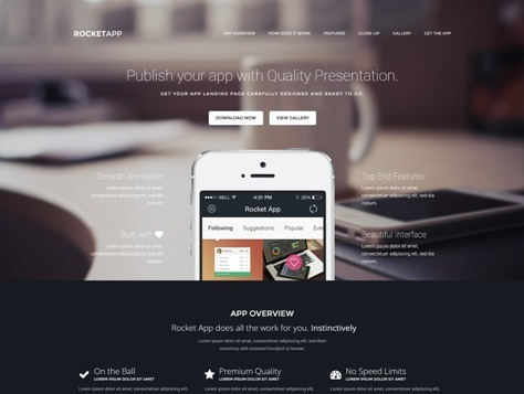 30+ Best Responsive Landing Page Templates