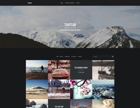 10+ Best Responsive Ghost Themes