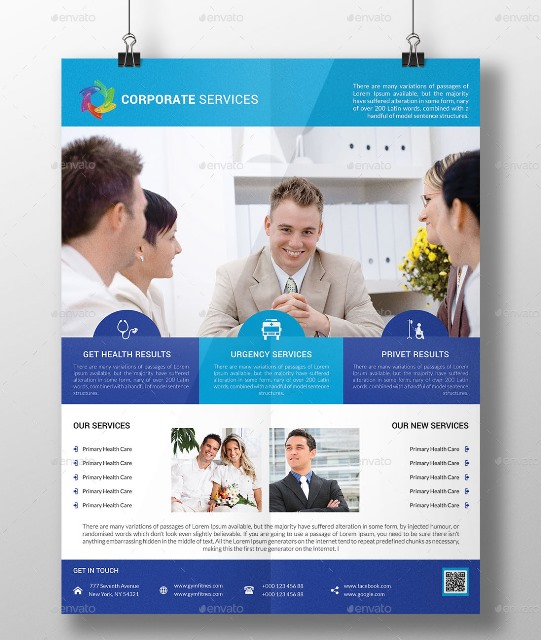 Corporate Services Flyer