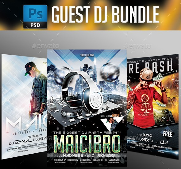 Dj Party Bundle 3 in 1