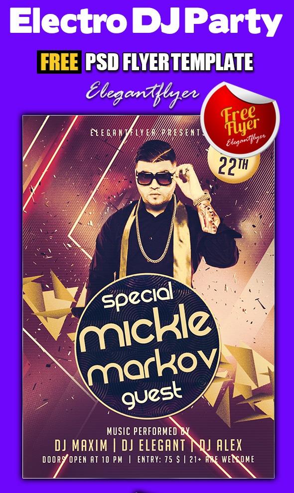 Free Electro DJ Party
