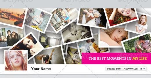30 Facebook Timeline Cover PSD Templates