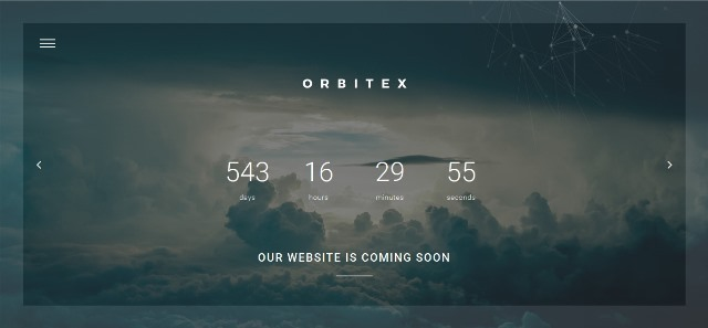 Orbitex Under Construction Template