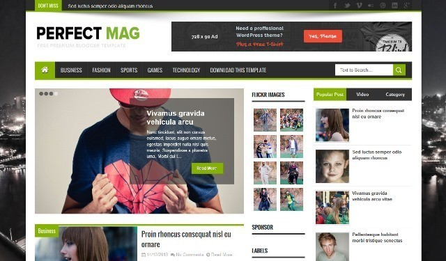 20 best free responsive blogger templates 2015 webprecis pronofoot35fo Choice Image