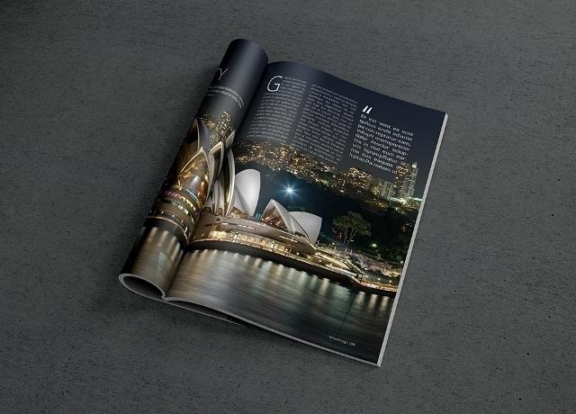 Photorealistic Magazine MockUp 2