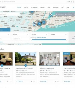 10+ Best Free and Premium Real Estate WordPress Themes