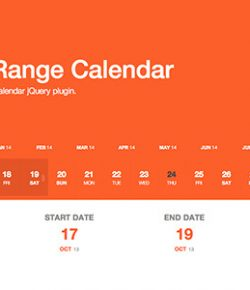10+ Best jQuery Calendar and Date Picker Plugins