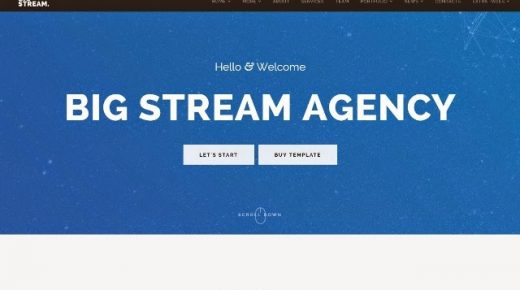 15+ Best Responsive One Page Drupal Themes