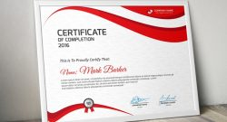 20+ Free and Premium PSD Certificate Templates