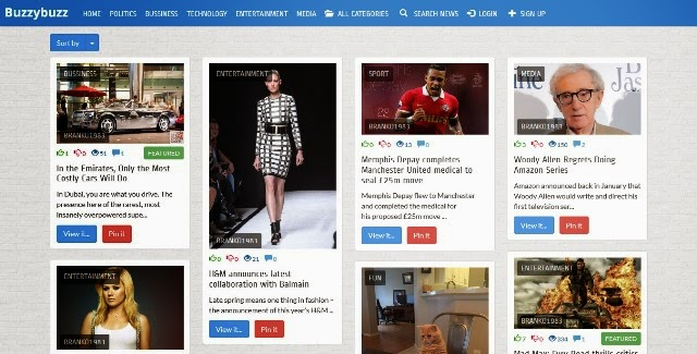 Buzzybuzz - News Maker Social Network