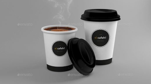 15 Best PSD Coffee Cup Mockup Templates