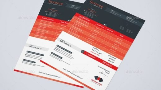 10+ Free and Premium Invoice Templates