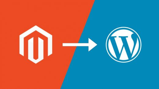 How to convert Magento Website to WordPress