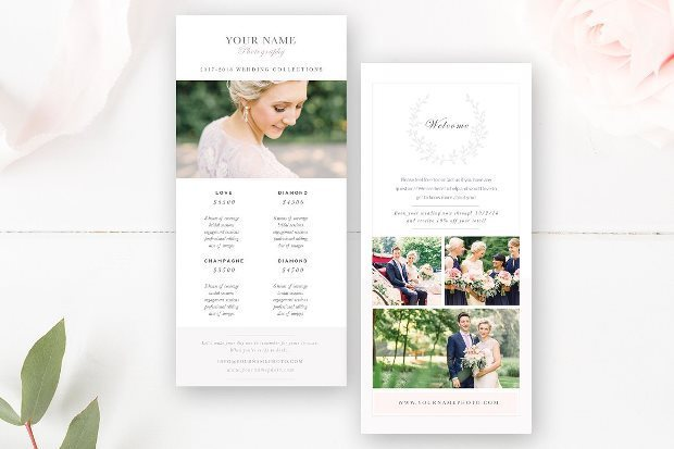 Free And Premium Rack Card Templates  Webprecis