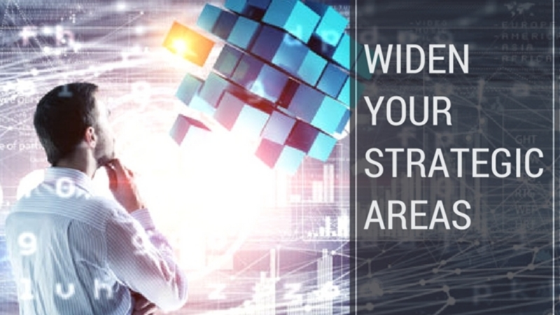 Widen Your Strategic Areas