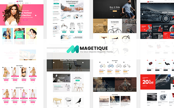 Magetique – The Most Comprehensive Multipurpose Magento 2 Theme
