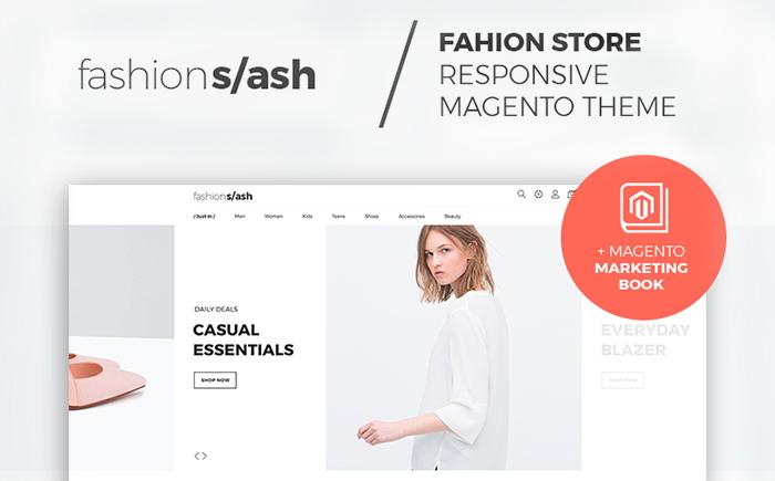 Fashion/ash – Clean Fashion Boutique Magento 2 Theme