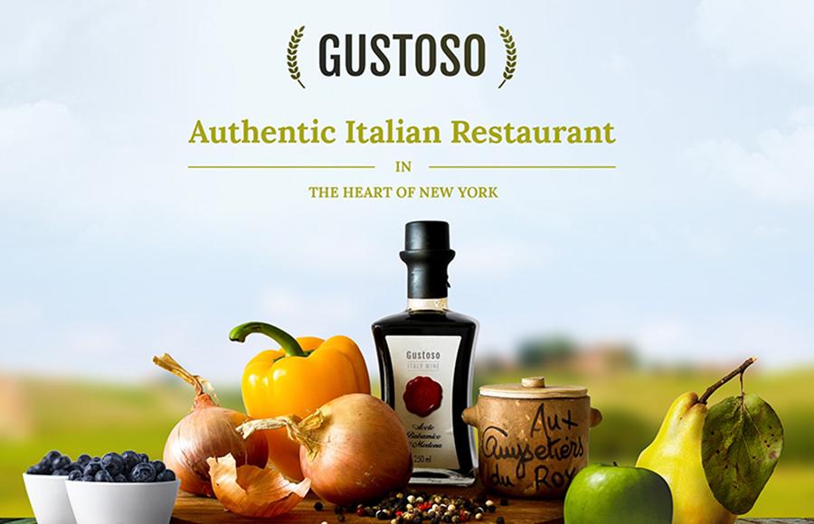 Gustoso Italian Restaurant Ready-made Website