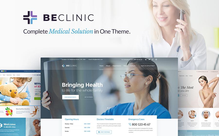 BeClinic - Multipurpose Medical