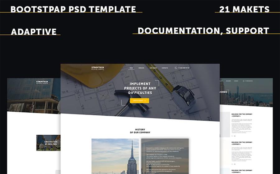 Building Responsive PSD Template