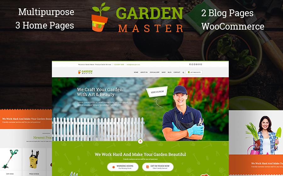Garden Master WordPress Theme