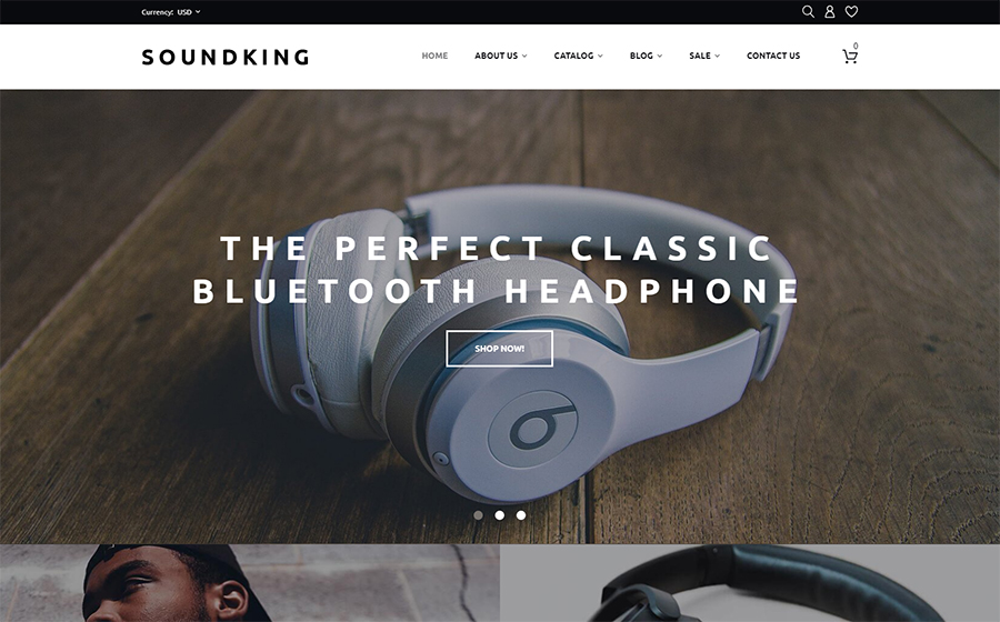 Soundking - Electronics Online Shopify Theme