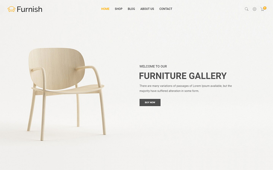 Furnish - Minimal eCommerce Furniture Shopify Theme