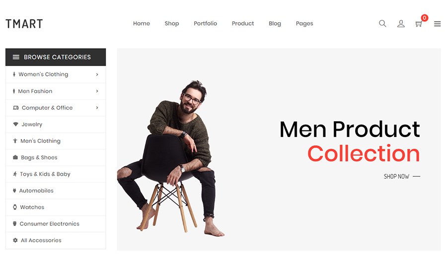 Tmart - Minimalist Multipurpose Shopify Theme
