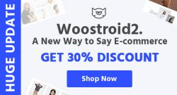 Woostroid2 Review: Get 30% Off the Nr.1 eCommerce WordPress Theme