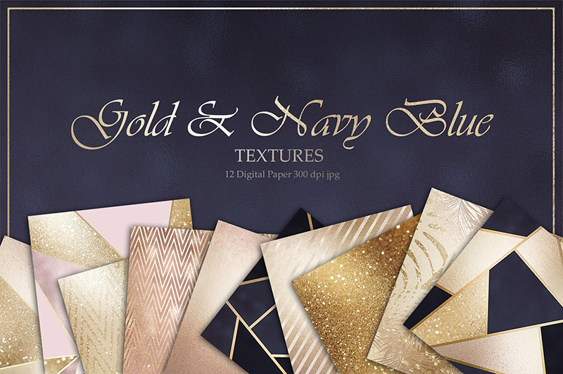 7 Gold Foil Textures 2019. Best Bundles for Creative Use