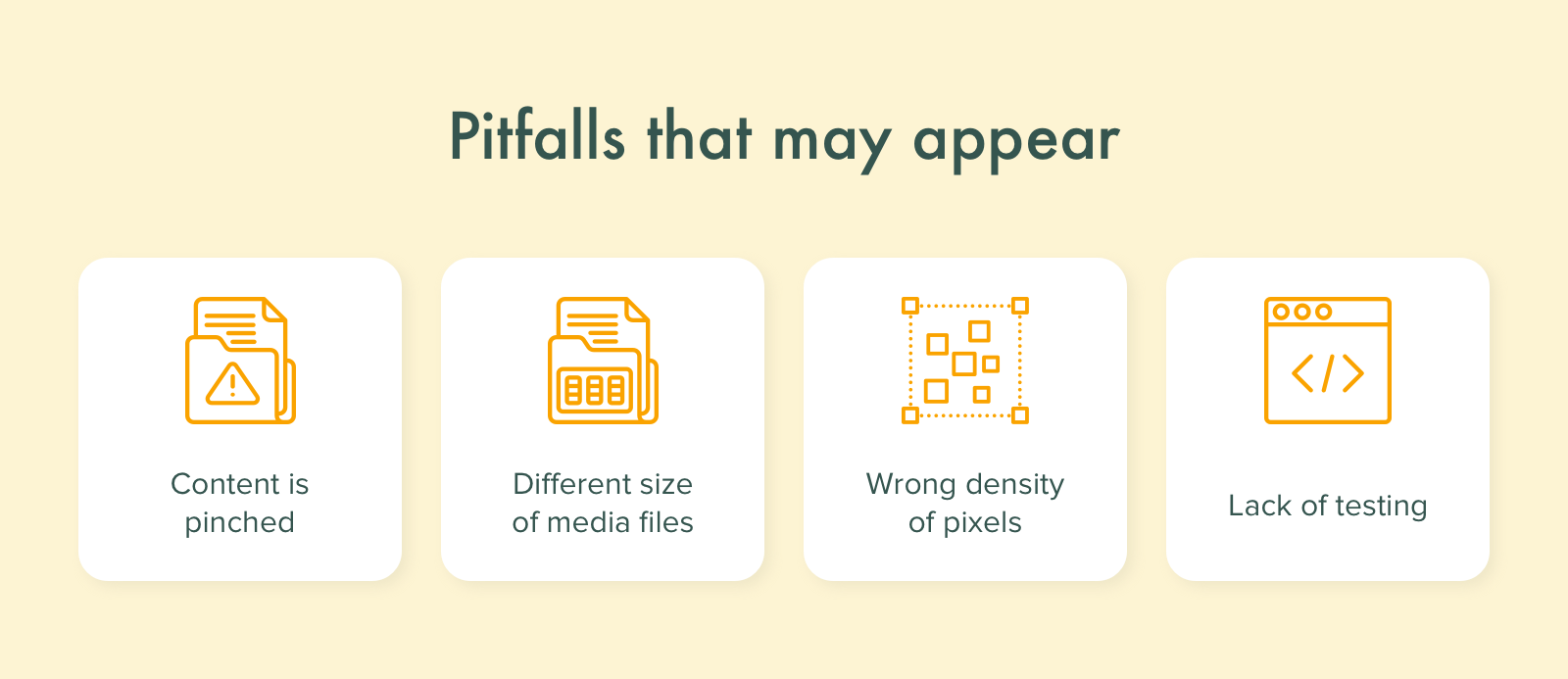Pitfalls to avoid when developing a responsive website